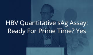 HBV quantitative sAg assay: Ready for Prime time? Yes