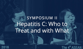 Symposium II: Hepatitis C: Who to treat and with what